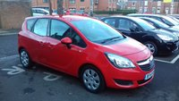 USED 2014 14 VAUXHALL MERIVA 1.4 EXCLUSIV AC 5d AUTO 118 BHP AUTOMATIC PETROL WITH ONLY 12611 MILES FROM NEW! CHEAP TO RUN, LOW CO2 EMISSIONS(169G/KM), EXCELLENT FUEL ECONOMY! GOOD SPECIFICATION INCLUDING PARKING SENSORS (FRONT AND REAR),AIR CONDITIONING, BLUETOOTH, CRUISE CONTROL, FULL SERVICE HISTORY (4 STAMPS).
