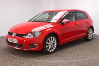 USED 2015 65 VOLKSWAGEN GOLF 2.0 GT TDI 5DR 148 BHP SAT NAV 1 OWNER SERVICE HISTORY  SERVICE HISTORY + £20 12 MONTHS ROAD TAX + 0% FINANCE AVAILABLE T&C'S APPLY + SATELLITE NAVIGATION + PARKING SENSOR + BLUETOOTH + CRUISE CONTROL + MULTI FUNCTION WHEEL + AIR CONDITIONING + RADIO/CD/AUX/USB + ELECTRIC WINDOWS + 17 INCH ALLOY WHEELS