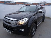 USED 2015 64 ISUZU D-MAX 2.5 TD BLADE DCB 1d 164 BHP IZUZU BLADE EDITION FULLY LOADED!!!!!! REAR CANOPY ALLOYS AIR CON