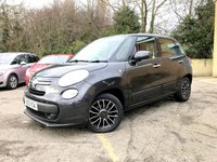 2013 FIAT 500L 1.4 EASY 5 DOOR, ONLY 39,000 MILES, SERVICE HISTORY,  BLUETOOTH,  £5990.00
