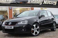 USED 2008 58 VOLKSWAGEN GOLF 2.0 GTI 3 DOOR 197 BHP LEATHER & SAT NAV