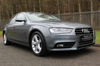 USED 2012 62 AUDI A4 2.0 TDIE SE 4d 161 BHP A LOVELY LOW MILEAGE CAR WITH FULL SERVICE HISTORY!!!