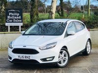 2015 FORD FOCUS 1.6 ZETEC TDCI 5d 114 BHP APPEARANCE PACK £8995.00