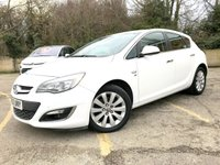 2013 VAUXHALL ASTRA 2.0 ELITE CDTI S/S 5d FULL BLACK LEATHER, HETED SEATS, ONLY 54K  £6690.00