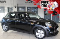 USED 2016 65 MINI HATCH COOPER 1.5 COOPER 5DR 134 BHP full mini service history 5 year service plan FINISHED IN STUNNING MIDNIGHT METALLIC BLACK WITH CARBON BLACK CLOTH SEATS + FULL MINI SERVICE HISTORY + BLUETOOTH + DAB RADIO + 5 YEAR SERVICE PLAN + £20 ROAD TAX + AIR CONDITIONING + ALLOY WHEELS......