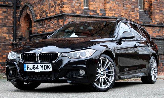 2014 64 BMW 3 SERIES 3.0 335D XDRIVE M SPORT TOURING 5d AUTO 309 BHP