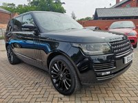 USED 2014 14 LAND ROVER RANGE ROVER 4.4 SDV8 AUTOBIOGRAPHY 5d AUTO 339 BHP FSH+Deployable Side Steps+Massage Hot and Cold Seats