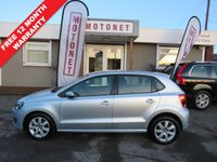 USED 2011 11 VOLKSWAGEN POLO 1.4 SE 5DR HATCHBACK 85 BHP FREE TANK OF FUEL