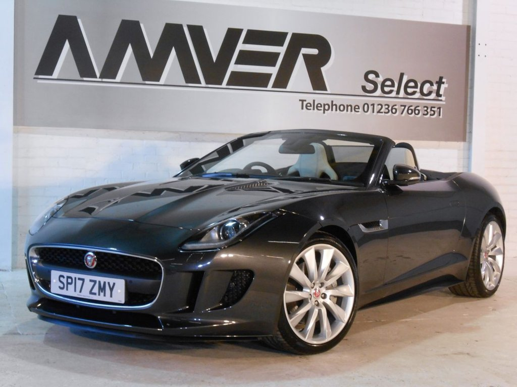 USED 2017 17 JAGUAR F-TYPE 3.0 V6 2d AUTO 340 BHP