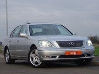 2005 LEXUS LS 4.3 430 4d AUTO 279 BHP £6950.00