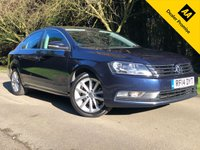 2014 VOLKSWAGEN PASSAT 1.6 EXECUTIVE TDI BLUEMOTION TECHNOLOGY 4d 104 BHP £9990.00