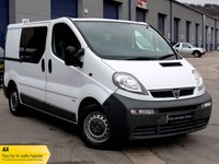 USED 2005 55 VAUXHALL VIVARO 1.9 DI 2900 SWB Glass Panel