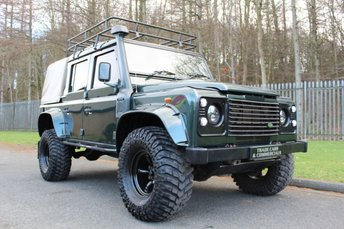 2009 LAND ROVER DEFENDER 2.4 110 COUNTY DCB 1d 122 BHP £21000.00
