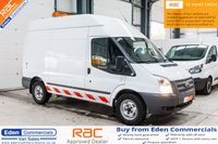 USED 2012 62 FORD TRANSIT 2.2 350 MEDIUM WHEEL BASE HI ROOF * EX BRITISH GAS * WORKSHOP VAN