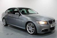 USED 2011 11 BMW 3 SERIES 3.0 325D M SPORT 4d AUTO 202 BHP SAT NAV+HEATED BLACK LEATHER+AUTO