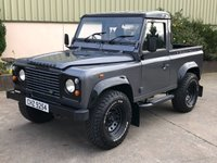 2002 LAND ROVER DEFENDER 90 2.5 90 PICK-UP TD5 1d 120 BHP £12750.00
