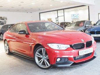 2014 BMW 4 SERIES 2.0 420D XDRIVE M SPORT 2d AUTO 181 BHP £17990.00