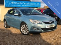 2010 VAUXHALL ASTRA 1.6 SE 5d AUTOMATIC £5495.00