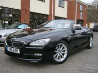 USED 2011 11 BMW 6 SERIES 3.0 640I SE 2d AUTO 316 BHP