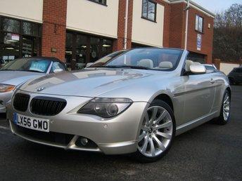 2006 BMW 6 SERIES 3.0 630I SPORT 2d AUTO 255 BHP £6495.00