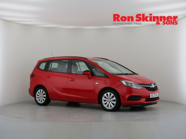 View our 2017 17 VAUXHALL ZAFIRA TOURER 1.4 DESIGN 5d AUTO 138 BHP