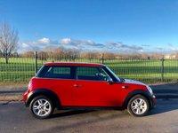 2010 MINI HATCH ONE 1.6 ONE 3d 98 BHP £4995.00