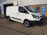 2016 FORD TRANSIT CUSTOM 2.2 290 LOW ROOF SWB P/V 1d 99 BHP £9895.00
