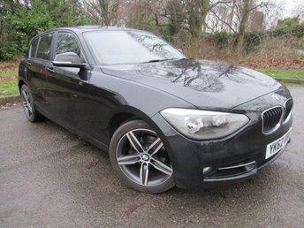 2012 BMW 1 SERIES 2.0 118D SPORT 5d 141 BHP £9500.00