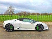 2017 LAMBORGHINI HURACAN 5.2 LP 610-4 SPYDER 2d AUTO 610 BHP £175000.00