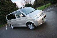 2005 VOLKSWAGEN CARAVELLE 2.5 EXECUTIVE TDI 5d AUTO 130 BHP + 7 SEATS + LEATHER £10990.00