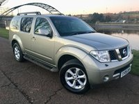USED 2008 08 NISSAN PATHFINDER 2.5 AVENTURA DCI 5d 169 BHP **AUTOMATIC -LEATHER**