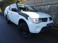 2009 MITSUBISHI L200 2.5 4WD 4WORK DCB 1d 134 BHP DOUBLE CAB PICK UP £5995.00