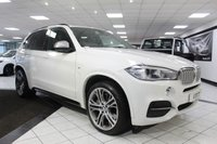USED 2014 14 BMW X5 3.0 M50D AUTO 4X4 376 BHP M PERFORMANCE 21'S 7 SEATS