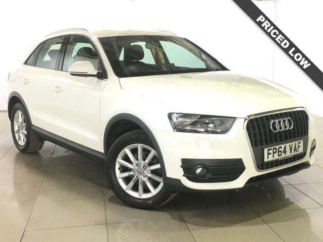 View our 2014 64 AUDI Q3 2.0 TDI SE 5d 138 BHP