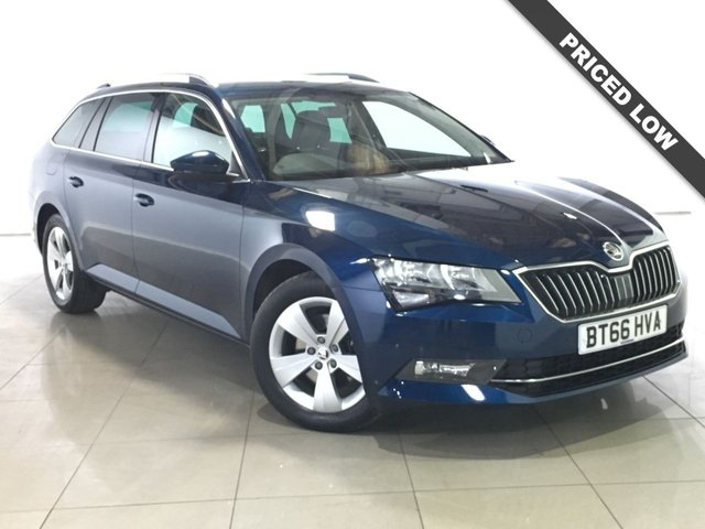 View our 2016 66 SKODA SUPERB 2.0 SE TECHNOLOGY TDI DSG 5d AUTO 148 BHP