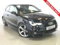 USED 2012 62 AUDI A1 2.0 TDI S LINE BLACK EDITION 3d 143 BHP Part Leather/18 Alloy Wheels