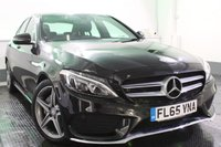 USED 2015 65 MERCEDES-BENZ C CLASS 2.0 C200 AMG LINE 4d AUTO 184 BHP