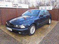 2000 BMW 5 SERIES 2.9 530D 4d AUTO 191 BHP £350.00