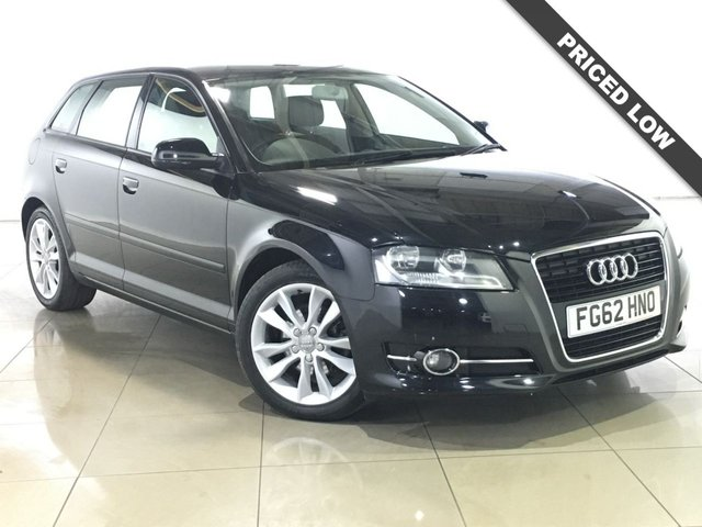 View our 2012 62 AUDI A3 1.4 TFSI SPORT 5d 123 BHP