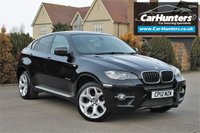 USED 2012 12 BMW X6 3.0 XDRIVE30D 4d 241 BHP SAT NAV 5 SEATS OYSTER LEATHER