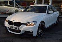 2015 BMW 3 SERIES 2.0 320D M SPORT 4d 181 BHP £16890.00