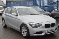 2014 BMW 1 SERIES 2.0 118D SE 5d AUTO 141 BHP £8495.00