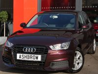 USED 2015 65 AUDI A1 SPORTBACK 1.0 TFSI SE 5d AUTO 95 S/S 1 OWNER FROM NEW, FULL SERVICE HISTORY, DSG AUTO, UPGRADE FULL BLACK MILANO LEATHER INTERIOR, UPGRADE FRONT SPORT SEATS, UPGRADE BOSE SOUND SYSTEM, UPGRADE 3 SPOKE LEATHER SPORTS MULTI FUNCTION STEERING WHEEL W/ PADDLE SHIFT, UPGRADE PHONE PREP W/ BLUETOOTH + AUDIO STREAMING, UPGRADE HIGH GLOSS BLACK PACK, UPGRADE PRIVACY GLASS, UPGRADE ELECTRIC POWER FOLDING HEATED DOOR MIRRORS, UPGRADE LED LIGHTING PACK(INC LED INTERIOR, FOOTWELL, SPEAKER, DOOR + PUDDLE LIGHTS), UPGRADE DIS W/ DIGI SPEED,VAT Q