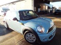 2013 MINI HATCH FIRST 1.6 FIRST 3d 75 BHP £4795.00