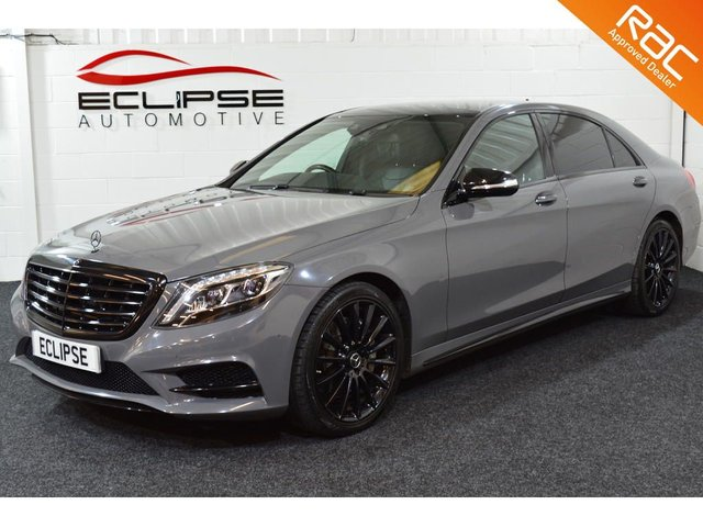 2015 15 MERCEDES-BENZ S CLASS 2.1 S300 BLUETEC HYBRID L AMG LINE EXECUTIVE 4d AUTO 204 BHP