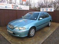 2003 ROVER 45 1.4 IL 16V 5d 102 BHP £150.00