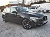 USED 2013 63 BMW 1 SERIES 2.0 116D SPORT 5d 114 BHP 2 PRV OWNERS + BMW HISTORY
