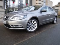 USED 2014 64 VOLKSWAGEN CC 2.0 GT TDI BLUEMOTION TECHNOLOGY DSG 4d AUTO 138 BHP FINANCE ARRANGED***PART EXCHANGE WELCOME***SERVICE HISTORY***BLUETOOTH***AUX***PARKING SENSORS