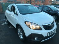 "USED 2015 65 VAUXHALL MOKKA 1.4 SE S/S 5d 138 BHP ONLY 9250 MILES FROM NEW , EXCELLENT FUEL ECONOMY AND EXCELLENT SPECIFICATION INCLUDING PRIVACY GLASS, CLIMATE CONTROL,  PARKING SENSORS, LEATHER TRIM AND 18"" ALLOY WHEELS."