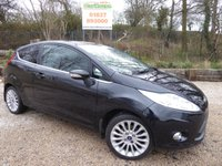 USED 2012 62 FORD FIESTA 1.6 TITANIUM 3dr Cruise, Parking Sensors,